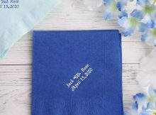 5 Types of Personalized Wedding Napkins That You Should Know | Table Covers Depot