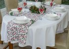 tablecloth sizes for oval tables what size tablecloth for 6ft rectangle table