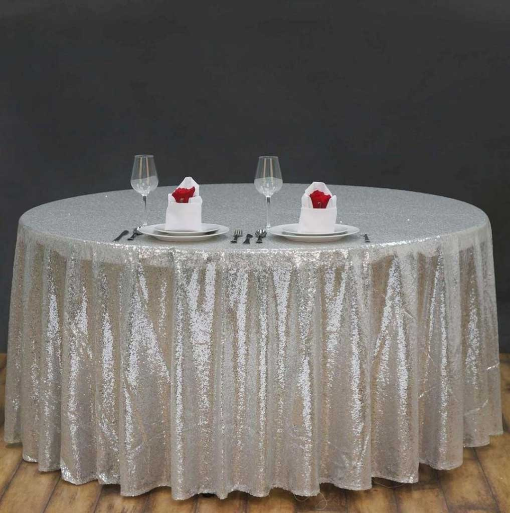 Various Gray Plastic Tablecloths for Party Celebration | Table Covers Depot