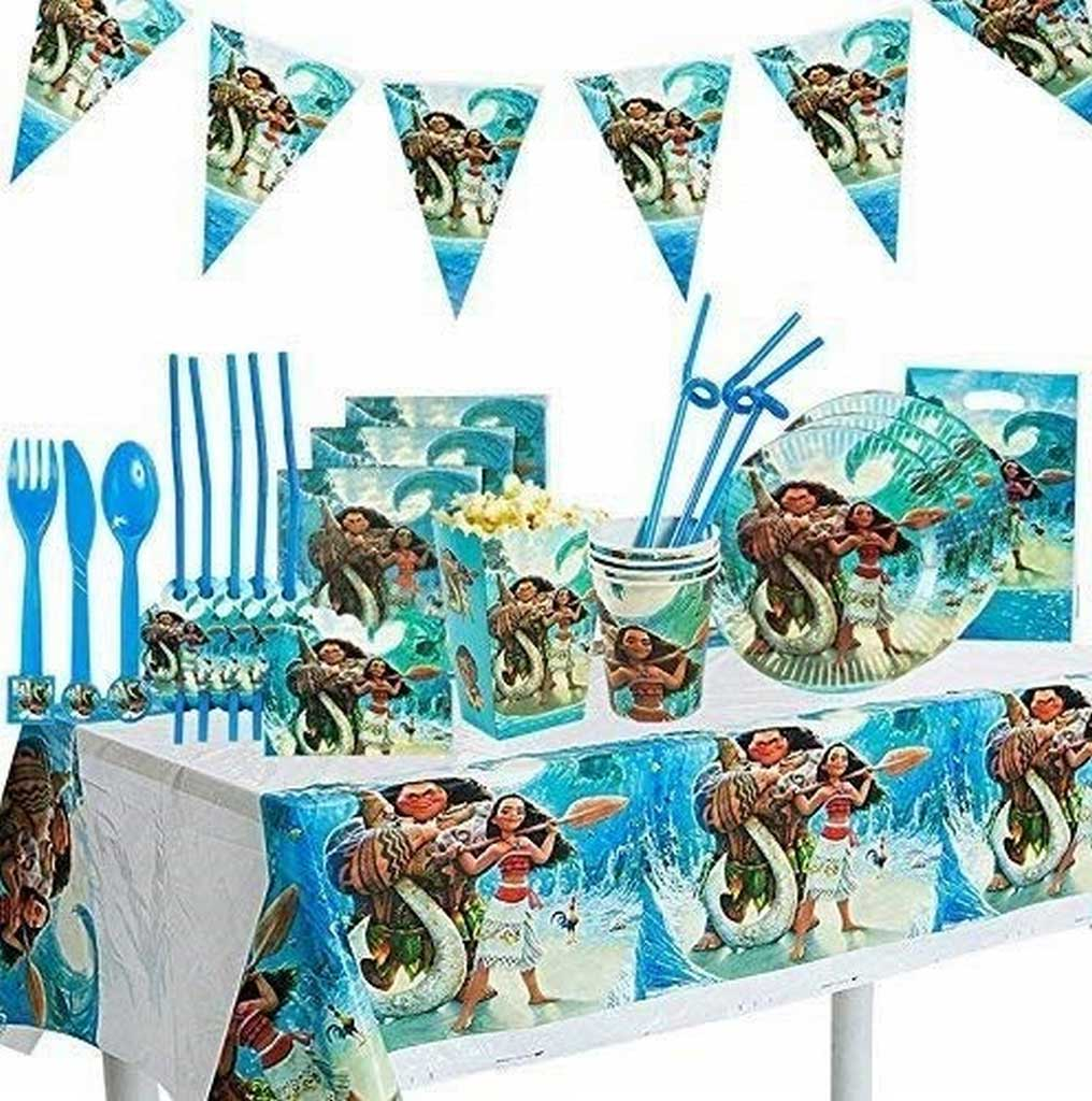 American Greetings' Moana Plastic Table Cover at Online Stores for Your Kids Birthday Bash   Table Covers Depot
