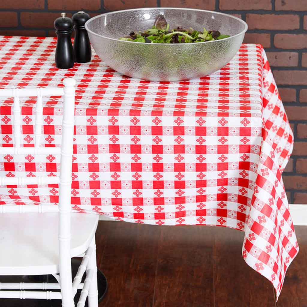 Get To Know How to Decorate Vinyl Christmas Tablecloths | Table Covers Depot