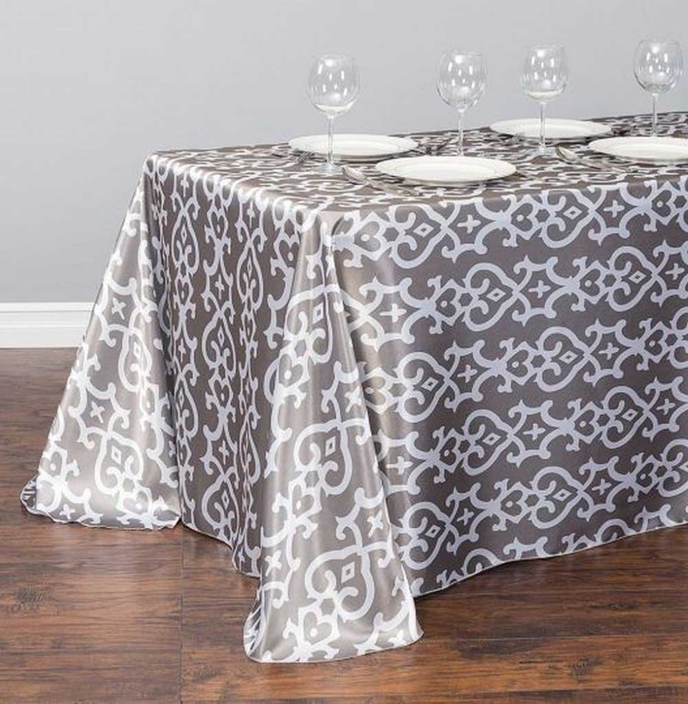 Ideal Tablecloths for Oval Table and the Size | Table Covers Depot