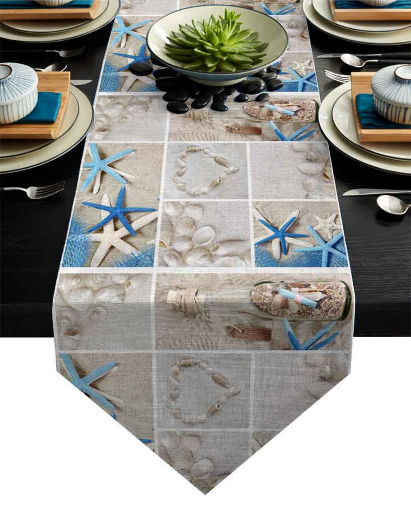 Types of Beach Themed Table Linens You Should Know | Table Covers Depot