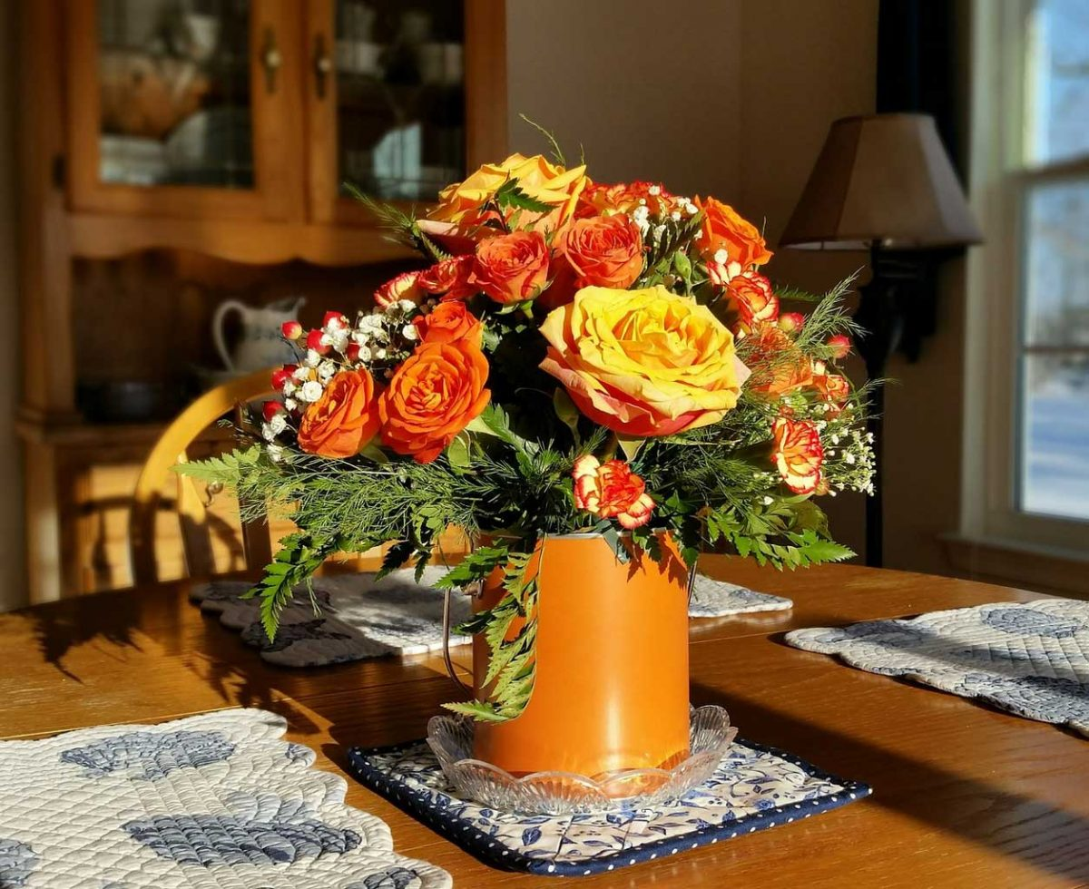 DIY How To Make Centerpiece for Dining Table From Used Bottle   Table Covers Depot