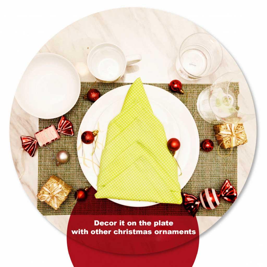 How to Make Napkin Folding Christmas Tree | Table Covers Depot