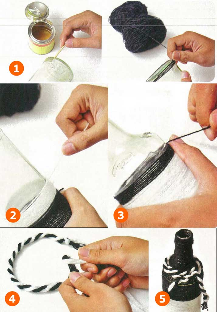 DIY How To Make Centerpiece for Dining Table From Used Bottle | Table Covers Depot