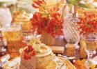 fall placemats set of 6 fall tablescape fall table linen fall color table linens