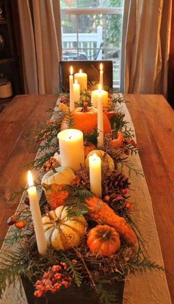 fall table runners-autumn harvest tablecloth-fall plaid table runner