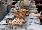 food stations at reception outdoor wedding decoration ideas pictures of wedding table settings