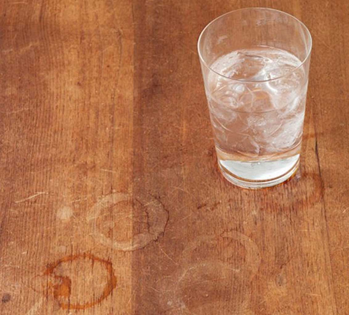 How To Remove White Water Stains From Wood Furniture | Table Covers Depot