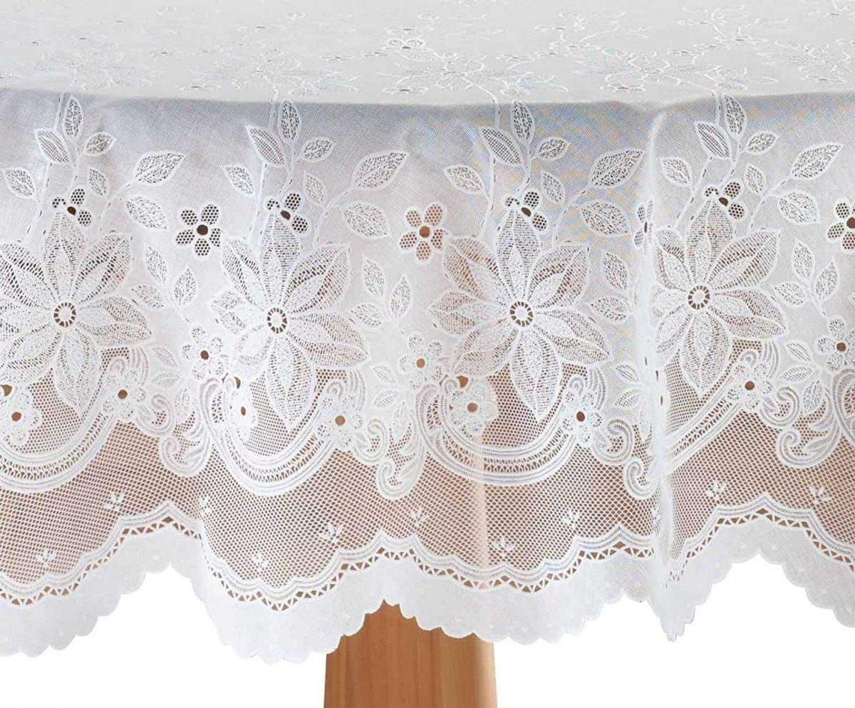 Durable And Waterproof, Check Out These Lovely Shabby Chic Vinyl Tablecloth Designs | Table Covers Depot
