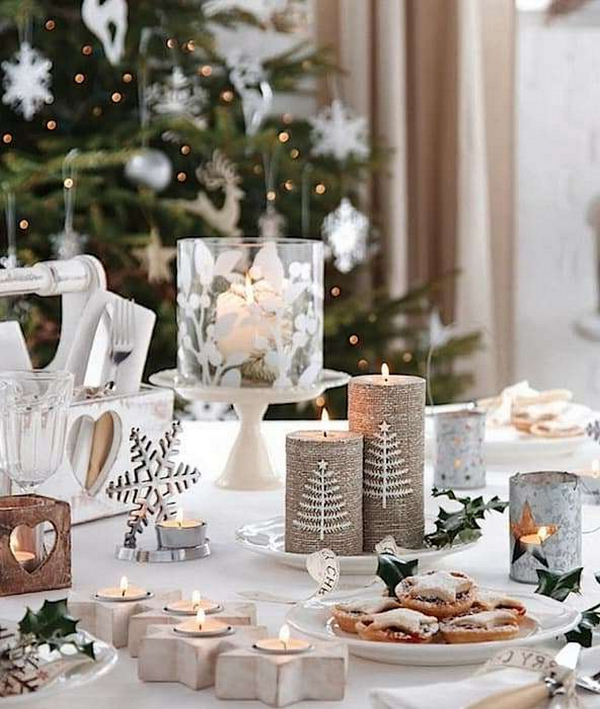 Christmas Table Settings Ideas Pictures.Simple Table Decorations Ideas Christmas Table Decorations