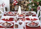 simple xmas table decorations to make christmas party table settings
