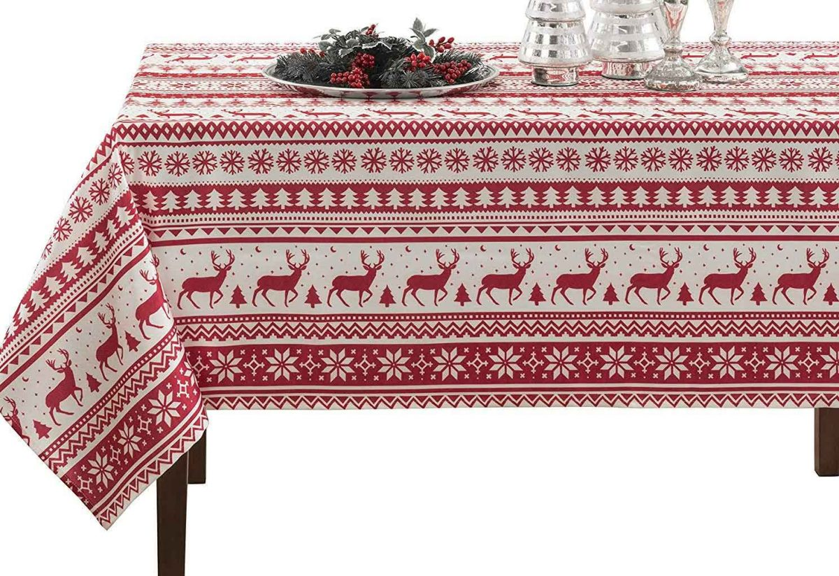 5 Best Christmas Table Linens Recommendations You Should Know | Table Covers Depot