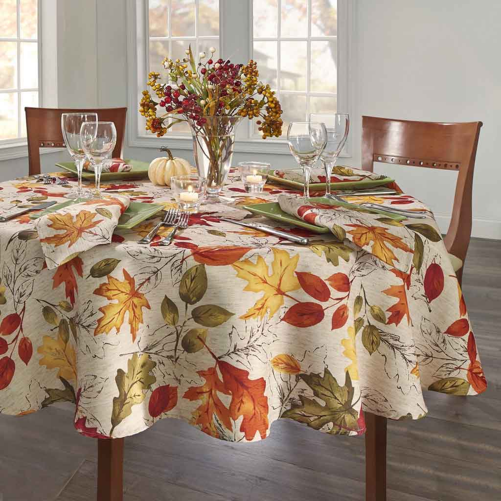4 Thanksgiving Table Linens for Your Perfect Celebration   Table Covers Depot