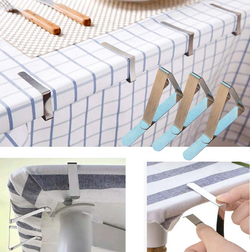 Reasons Why You Need Tablecloth Clips On Your Hand   Table Covers Depot