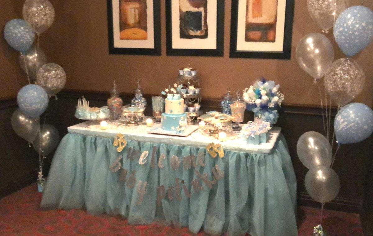 5 Adorable Boys And Girls Tablecloth Decorations For Baby Shower | Table Covers Depot
