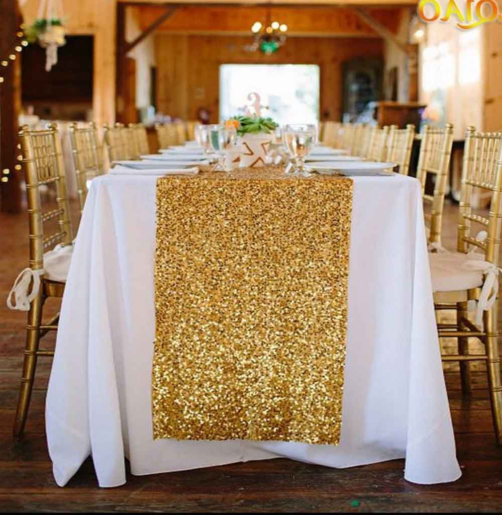 4 Wedding Table Runner Ideas to Beautify your Decoration | Table Covers Depot