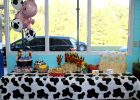 Cow Print Tablecloth Party City