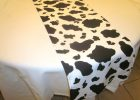 Cow Print Tablecloth Table Runner