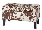 Cow Print Tablecloth and Brown