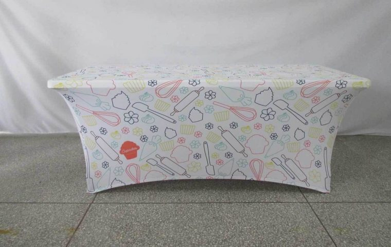 Custom Printed Tablecloths Fitted UK