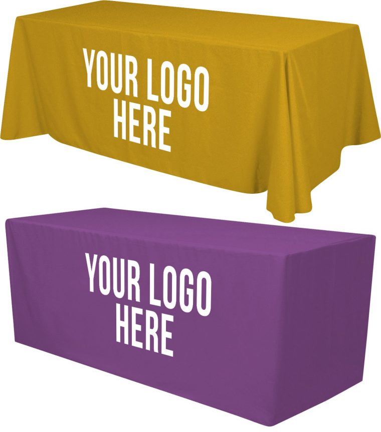 Custom Tablecloth With Logo Cheap