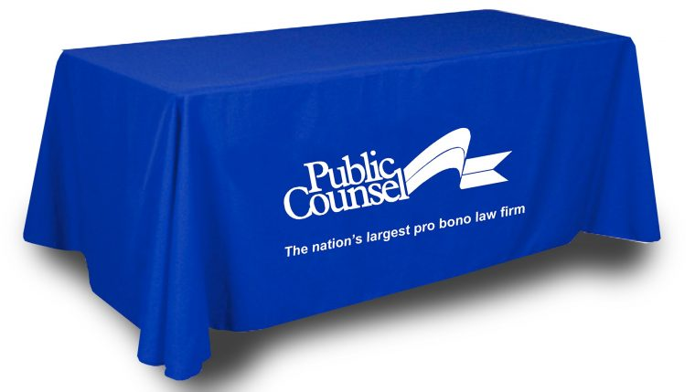 Custom Tablecloth With Logo Made UK