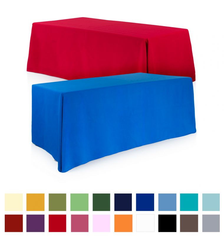 Exhibition Stand Tablecloths : Exhibition tablecloths design for your trade show table
