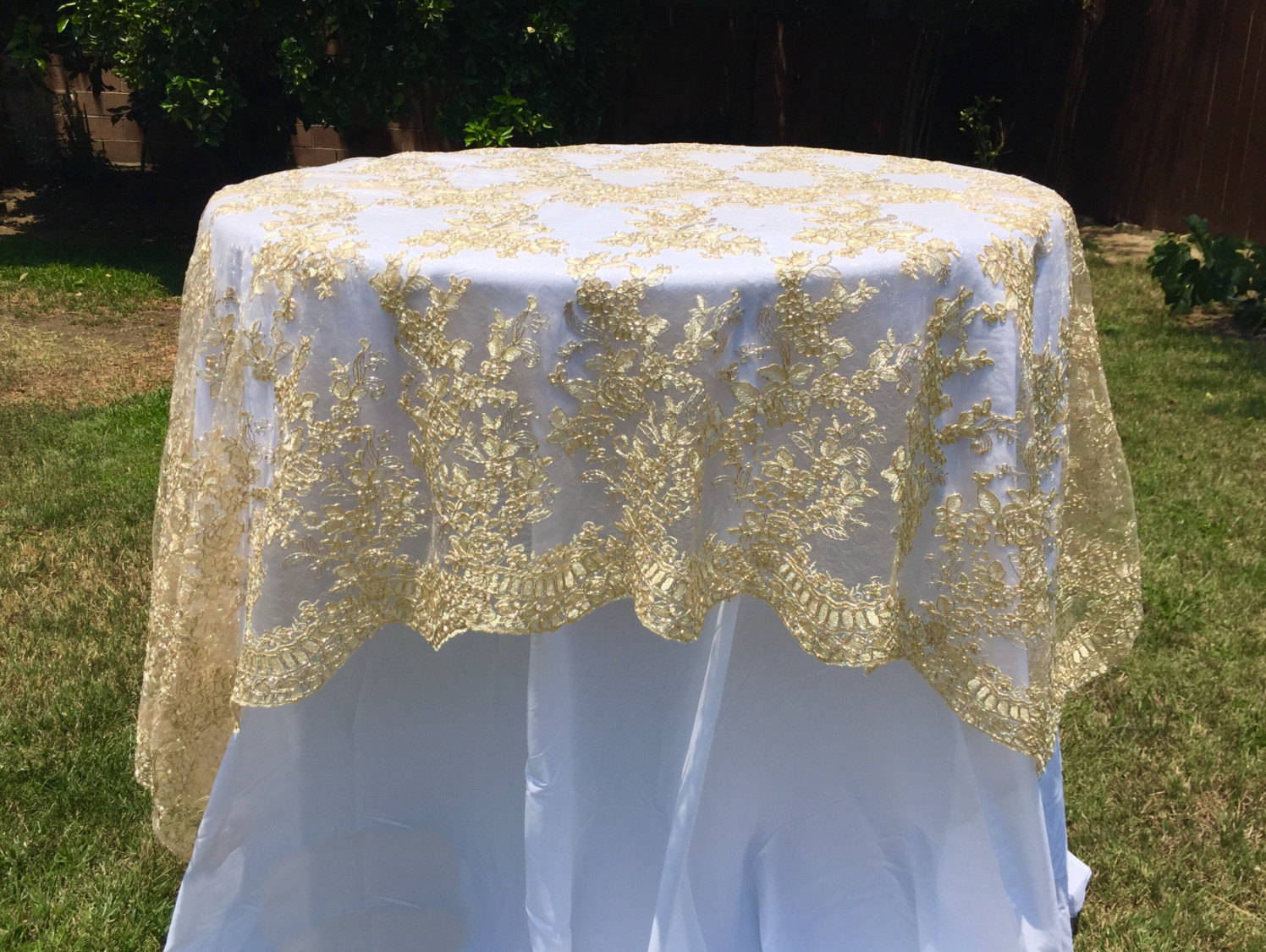 Lace Tablecloths For Weddings Cheap