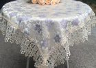 Lace Tablecloths For Weddings Round Table