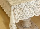 Lace Tablecloths For Weddings White for Sale