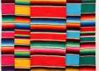 Mexican Serape Table Runner Blanket Fiesta Design