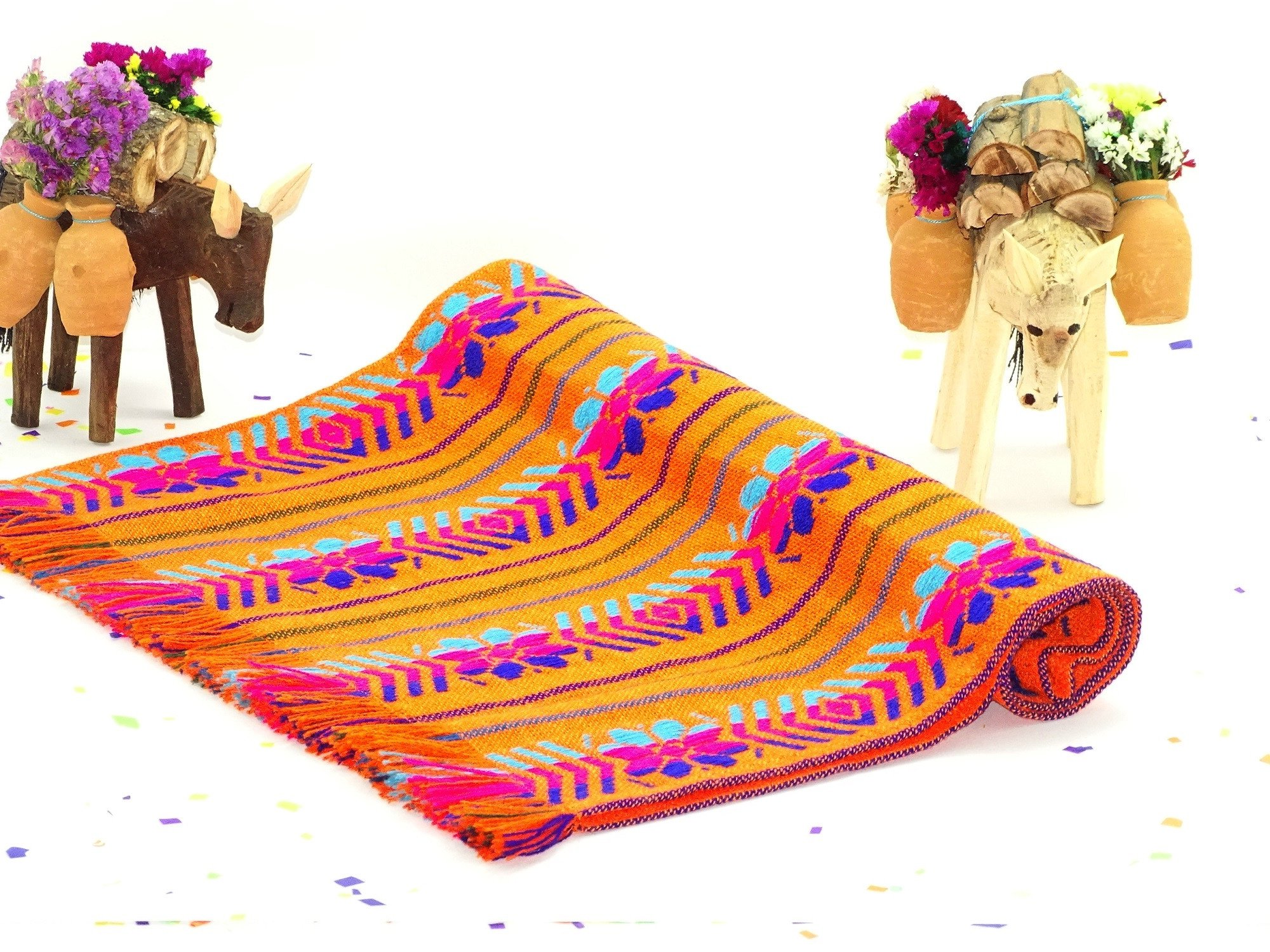 Excellent Mexican Serape Table Runner Blanket Table Covers Depot Download Free Architecture Designs Intelgarnamadebymaigaardcom