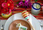 Mexican Serape Table Runner Saltillo Fiesta