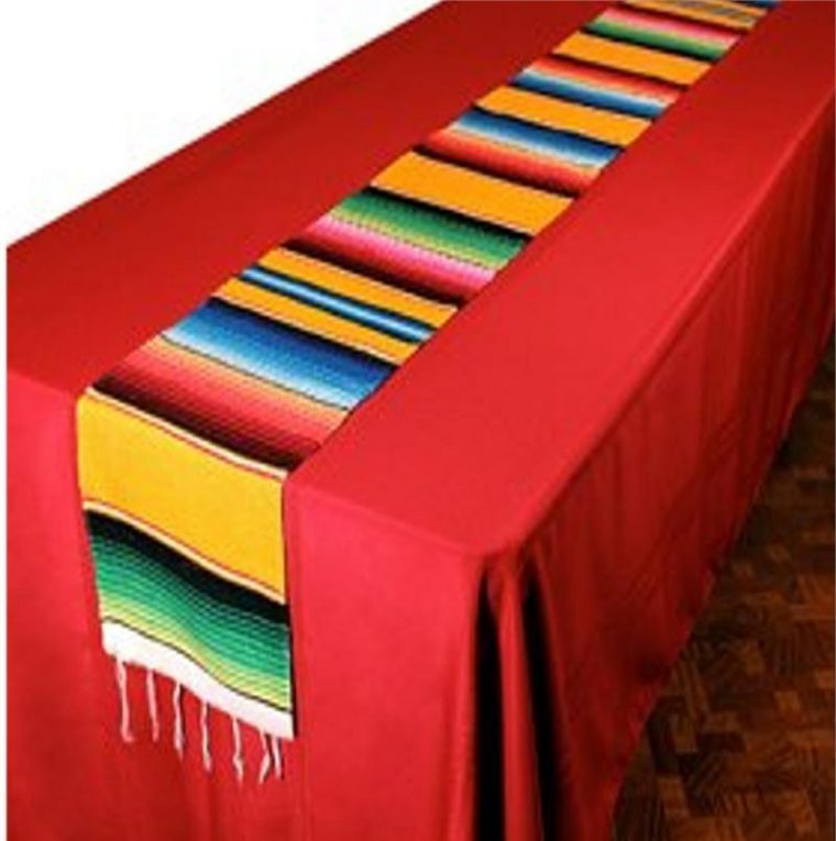 ... Mexican Serape Table Runner Style