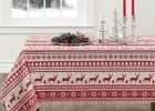 Oversized Tablecloths Holiday