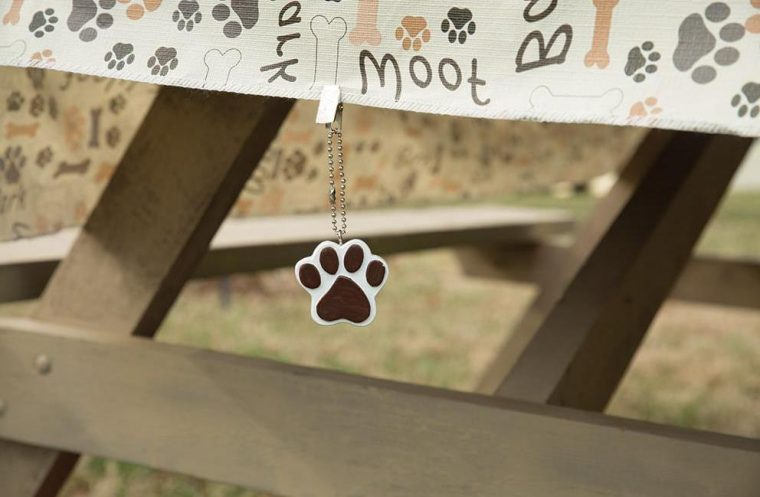 Paw Print Tablecloth Dog Cloth
