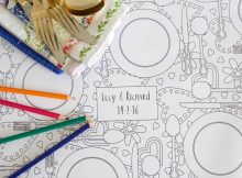 Personalised Table Cloth Paper
