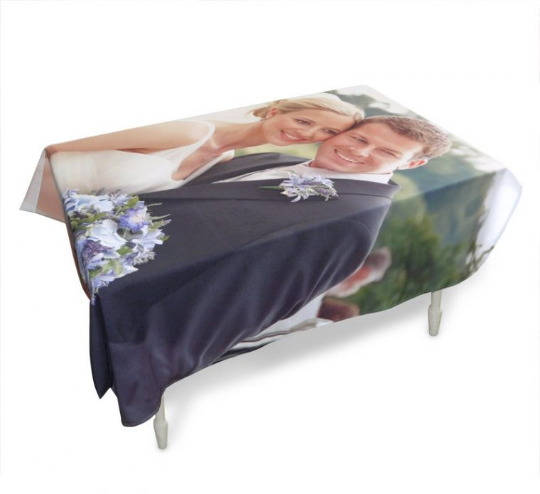 Personalised Table Cloth Print UK