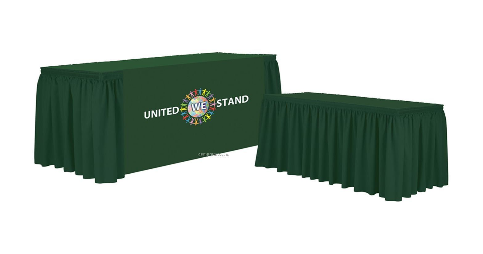 Why You Should Buy Custom Table Skirt with Logo   Table Covers Depot