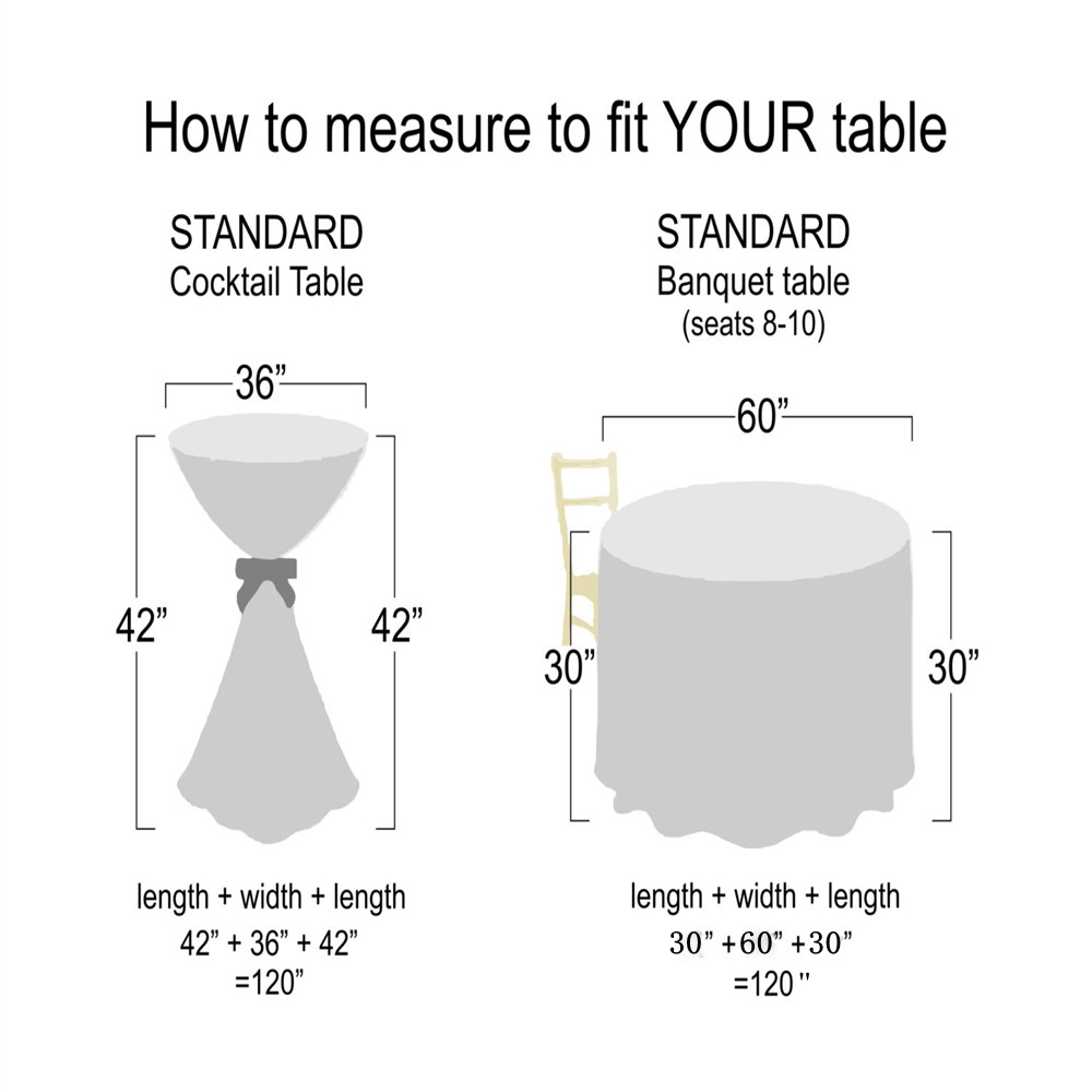 How To Measure Round Table.Home Design