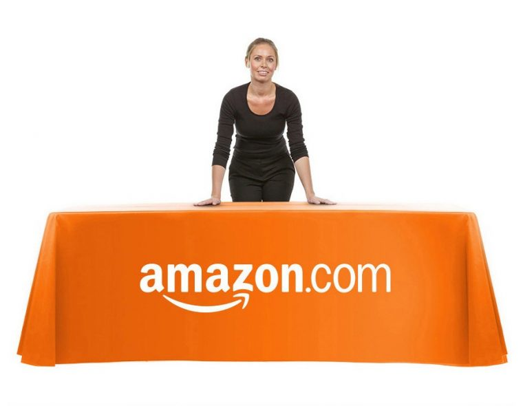 Tablecloths With Logo Custom Made Size