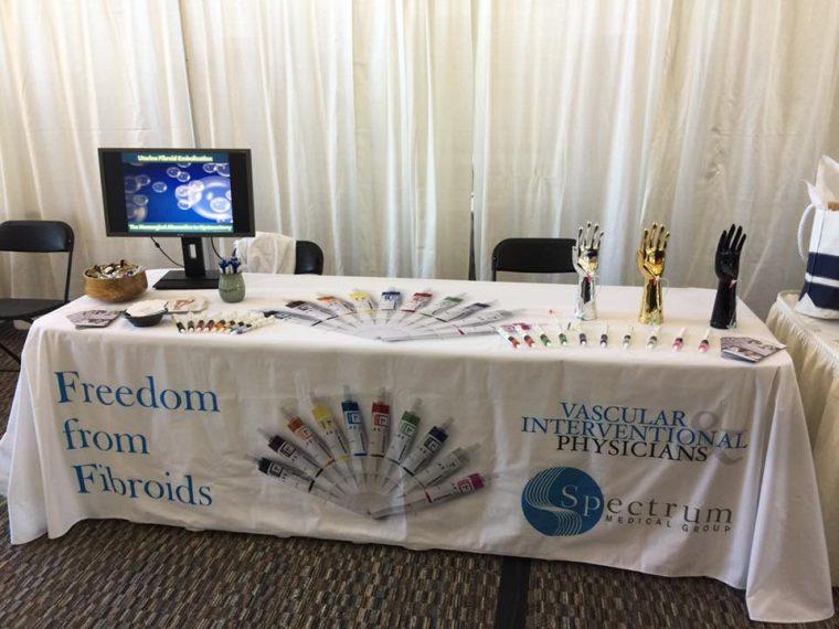 Tradeshow Tablecloth Dimensions