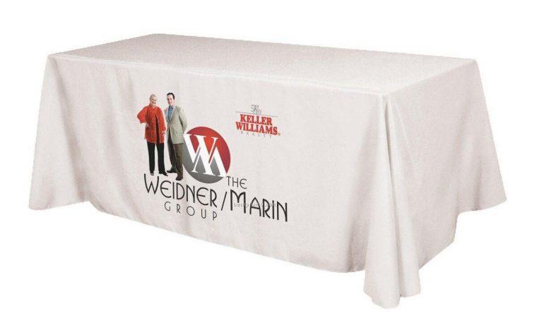 Tradeshow Tablecloth White Toronto
