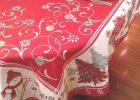 Custom Table Linens | Oval Christmas Tablecloths