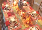 Thanksgiving Tablecloth Oval | Best Images Collections HD For ..