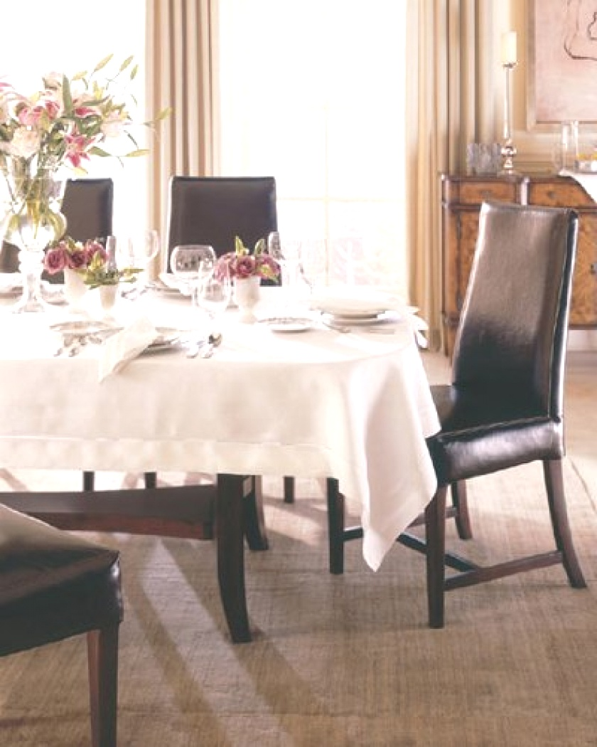 Tablecloth For Oval Table | What size tablecloth do you need for your table? - L.V. Harkness ..