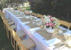 Tablecloths. Awesome White Tablecloth with Burlap Runner: White ..