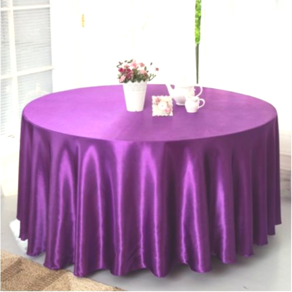 Do You Have Unused 120 Inch Round Plastic Tablecloths? | Table Covers Depot